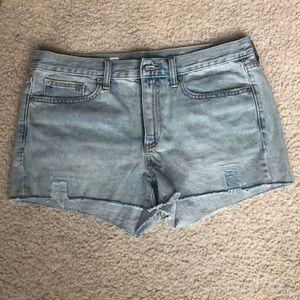 NEW never worn GAP 1969slim Jean shorts. Sz 29